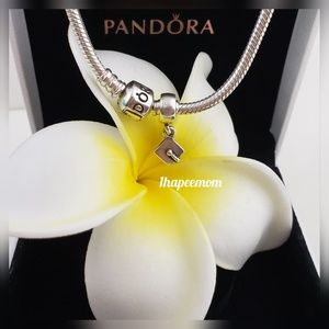 Authentic Pandora Graduation Cap Charm